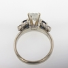1.53 ct. Radiant Cut Bridal Set Ring #4