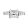1.51 ct. Princess Cut Solitaire Ring, G, VS1 #2
