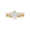 1.03 ct. Oval Cut 3 Stone Ring, I, SI1 #3