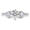 1.01 ct. Round Cut 3 Stone Ring, I, SI1 #3
