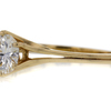 0.97 ct. Round Cut Solitaire Ring #2