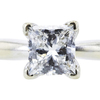 1.02 ct. Princess Cut Solitaire Ring, G, VS1 #4