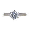 1.01 ct. Round Cut Solitaire Ring, I, I1 #2