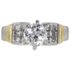 1.35 ct. Round Cut Solitaire Ring, D, SI2 #3
