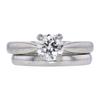 1.01 ct. Round Cut Bridal Set Ring, I, SI2 #3