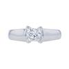 0.75 ct. Princess Cut Solitaire Ring, G-H, VS1-VS2 #2
