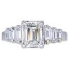 1.51 ct. Emerald Cut Right Hand Ring, I, VS2 #3