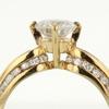 1.13 ct. Round Cut Bridal Set Ring #2