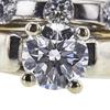 0.72 ct. Round Cut Bridal Set Ring, D, VS2 #4