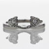 .98 ct. Round Cut Bridal Set Ring #4