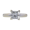 1.40 ct. Princess Cut Solitaire Ring, G, I1 #2