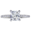 1.46 ct. Cushion Cut Solitaire Ring, H, VS2 #3