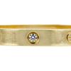 CARTIER LOVE BRACELET, 18K YELLOW GOLD 4 DIAMONDS #2