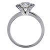 1.09 ct. Round Cut Bridal Set Tiffany & Co. Ring, E-F, VS1 #3
