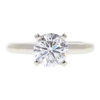 1.29 ct. Round Cut Solitaire Ring, F, SI1 #3