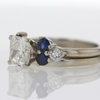 1.53 ct. Radiant Cut Bridal Set Ring #1