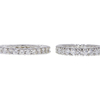 Round Cut Eternity Band Ring, G-H, SI1-SI2 #1