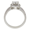 1.05 ct. Round Cut Bridal Set Ring, I, I1 #4