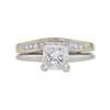 1.3 ct. Princess Cut Bridal Set Ring, G, SI1 #2
