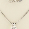 0.76 ct. Round Cut Pendant Necklace #2