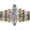 1.04 ct. Marquise Cut Solitaire Ring #3