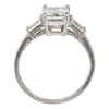 2.03 ct. Emerald Cut 3 Stone Ring, H, VS2 #3