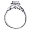 1.06 ct. Round Cut Halo Ring, I-J, I1-I2 #3
