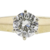 0.51 ct. Round Cut Bridal Set Ring, H, SI2 #4