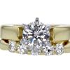 1.10 ct. Round Cut Bridal Set Ring #3