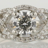 .97 ct. Round Cut Bridal Set Ring #1