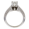 0.97 ct. Cushion Cut Solitaire Ring, I, SI2 #4