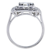 1.70 ct. Round Cut Halo Ring, G, I1 #2