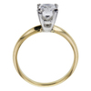0.98 ct. Princess Cut Solitaire Ring, D, SI2 #3