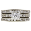 0.98 ct. Princess Cut Ring, F-G, VS2 #1
