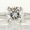 1.27 ct. Round Cut Bridal Set Ring #3