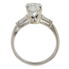 1.17 ct. Round Cut 3 Stone Ring, I, I1 #3