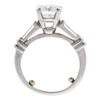 1.51 ct. Round Cut Bridal Set Ring, D, SI1 #4