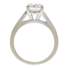 1.64 ct. Round Cut Central Cluster Ring, I, I1 #4