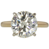 3.83 ct. Round Cut Solitaire Ring, M-Z, VVS2 #3