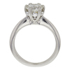 1.02 ct. Round Cut Bridal Set Ring, G, SI2 #4