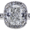1.81 ct. Cushion Cut Halo Ring, G, SI1 #4