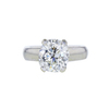 4.39 ct. Cushion Cut Solitaire Ring, M, VS1 #3