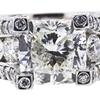 2.01 ct. Cushion Modified Cut Bridal Set Ring, I, VS2 #1