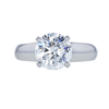 2.47 ct. Round Cut Solitaire Ring, F, VS1 #3