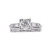 0.78 ct. Round Cut Bridal Set Ring, H, VS2 #3