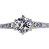 0.63 ct. Round Cut Solitaire Ring, F, VVS1 #1