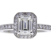 1.02 ct. Emerald Cut Solitaire Ring, I, VVS2 #3