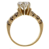 1.55 ct. Round Cut Central Cluster Ring #4