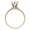 0.95 ct. Round Cut Solitaire Ring, E, SI1 #4