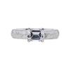 1.06 ct. Emerald Cut Solitaire Ring, D, VVS2 #3